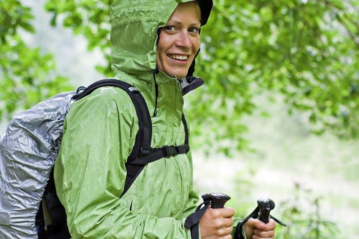Hiking in the rain gear list