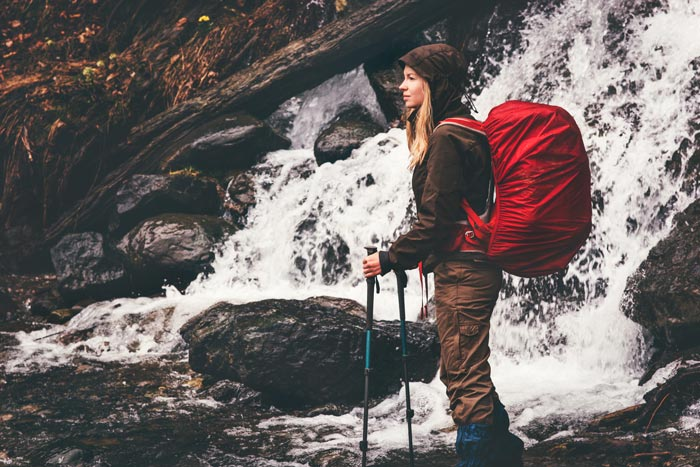 Guide to hiking in the rain